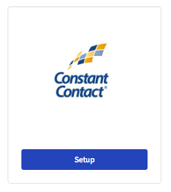 Setup Constant Contact Connector